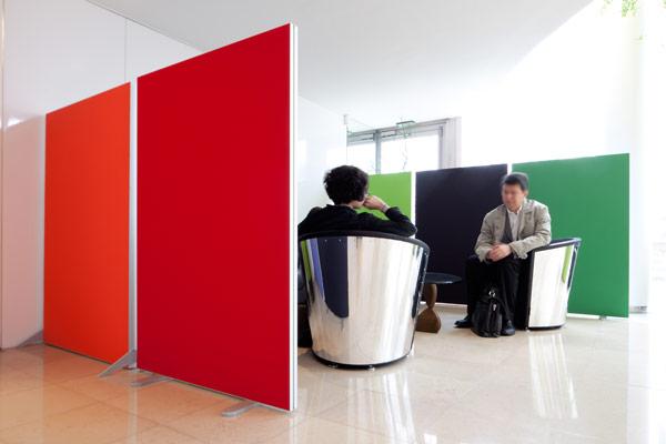 panneaux acoustique séparation espaces