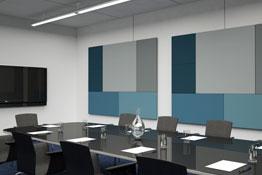 panneaux acoustique mural salle de réunion implanteo