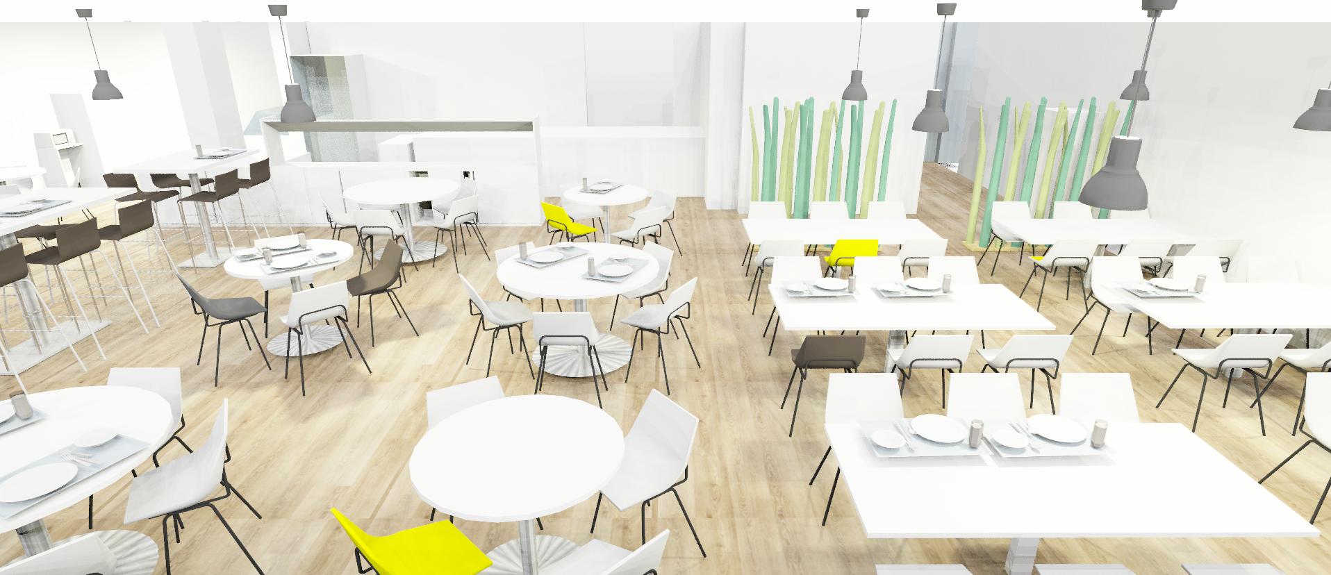 Plan 3D Restaurant