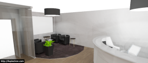 Hall d'Accueil 3D