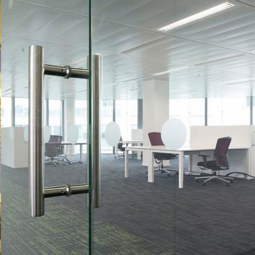 Porte Sur Pivot Implanteo - Porte vitrée sur pivot