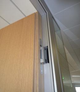 Porte Twin bois avantage